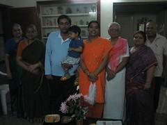 With chinna kollu thatha & chinna kollu paati