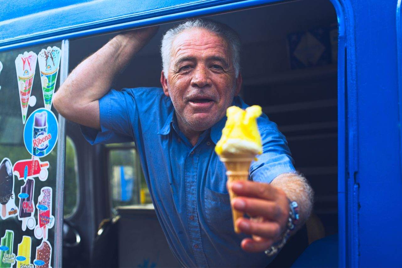Ice cream van man #7 - Cilent