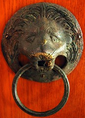 door handle in the Priory Church of the Order of St John