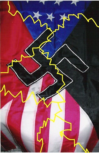 Flag of the National Socialist Movement (NSM)