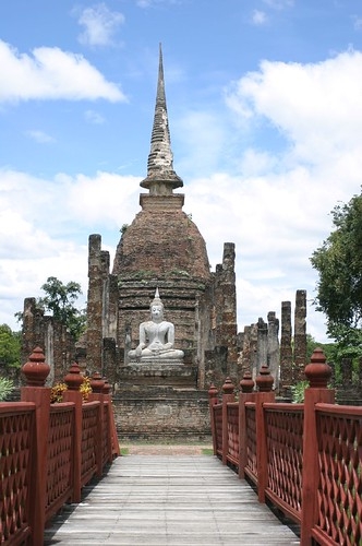Budda and Temples  in Sukhothai 07