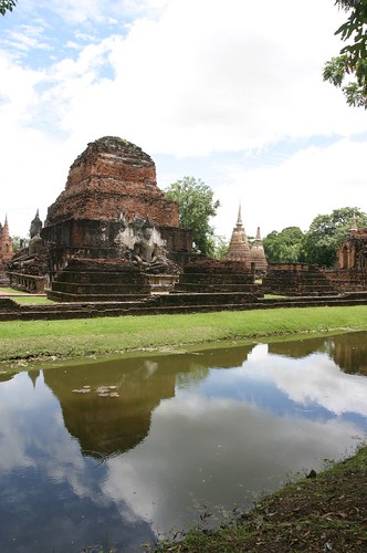 Budda and Temples  in Sukhothai 12