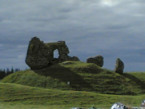 Ruined Norman Castle, Clonmacnoise