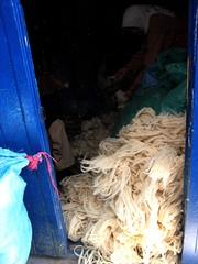 Weighing Fleece, Chefchaouen