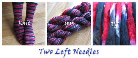 Two Left Needles