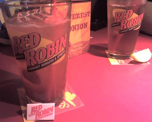 Red Robin drinks