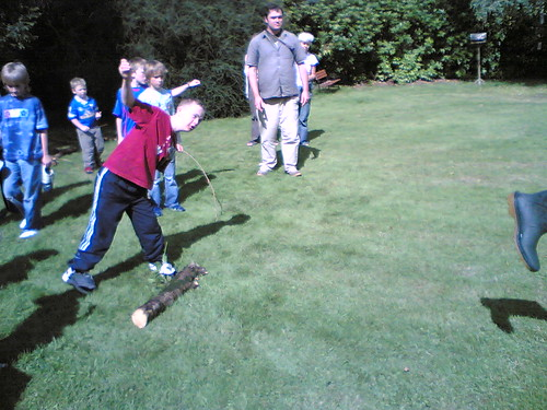 Wellie Throwing Competition 3