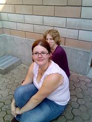 Amandine(devant) et Alice