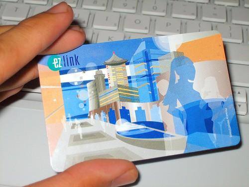 EZ Link Card - front