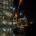 Oil Rigs and Moon