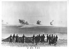 Etat Major de Rommel devant Bir Hakeim