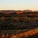 Sunset over the Finke River