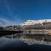 Alderman Reflected in Yeoman Hey Reservoir - Saddleworth