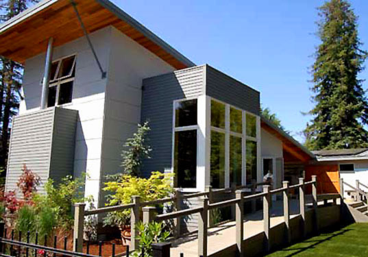 Sunset Idea House, Idea House, green building, sustainable architecture
