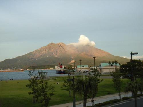 Mt.Sakurajima.