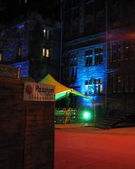 Gilded Balloon Teviot venue at night (Edinburgh Festival Fringe)