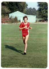 Mark in Cross Country Race- 1981
