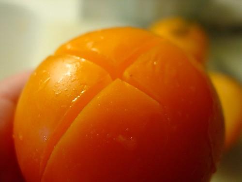 Peel Tomato - Score 1