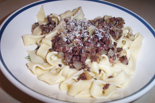 Pasta with Tapenade