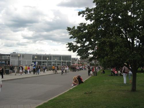 Montreal: harborfront