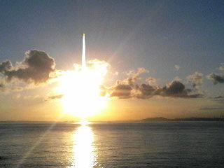 ASOから見た夕日1