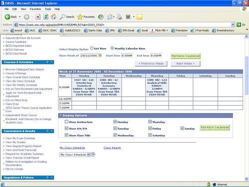 timetable 3