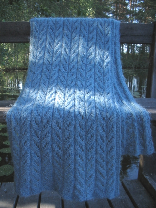 old mohair shawl