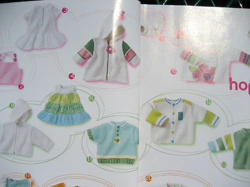 from Phildar Layette, Spring-Fall 2005