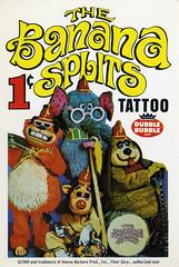 Banana Splits Tattoo card