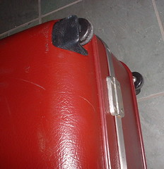 suitcase wheels