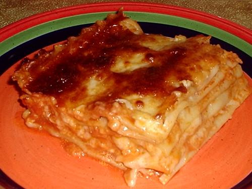 Mama Cream Puff's Lasagna