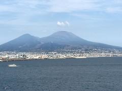 La baie de Naples avec le Vésuve