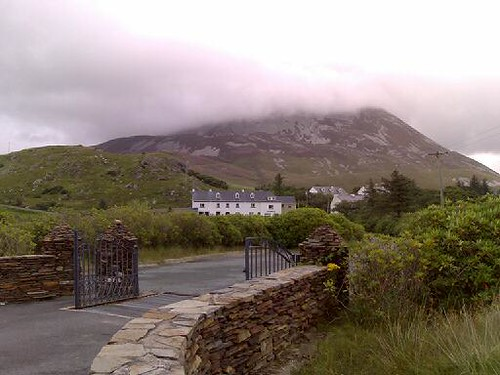 Mt. Errigal Under Cloud Cover
