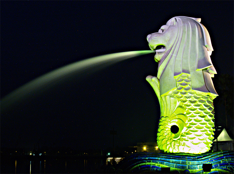 Doing the Merlion