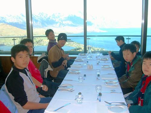 皇后鎮山頂餐廳用餐-3