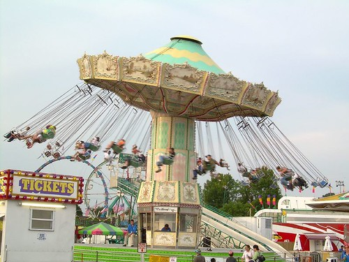 Swings at the fair