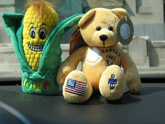 our trip mascots