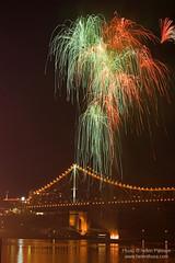 Fire Rain on the Story Bridge
