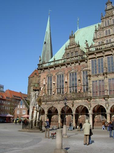 03.2006 Bremen Rathouse & Roland statue