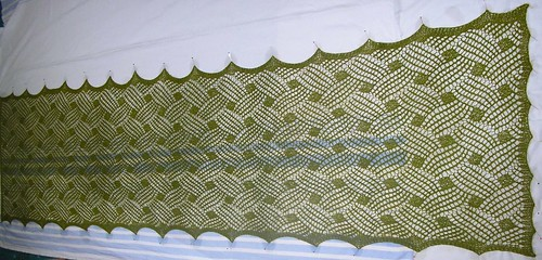 Lattice Lace Wrap  -