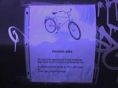 missing bike