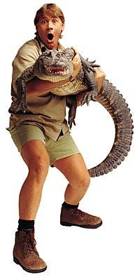 Steve-holding-croc