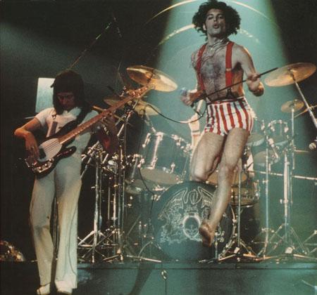 Freddie Mercury + John Deacon