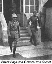 Enver Paşa ve General Von Seeckt