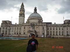 Cardiff City Hall, Cardiff, Wales