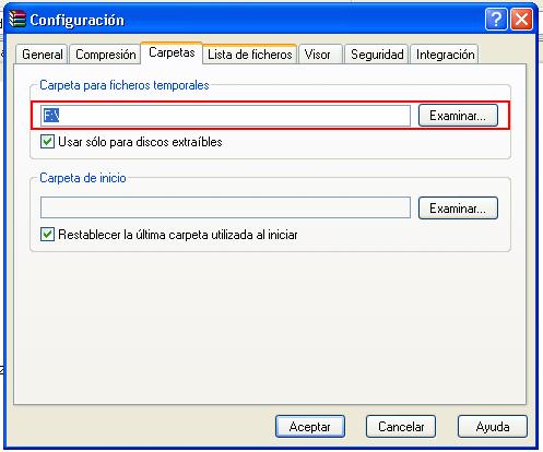 Error de CRC en el fichero codificado en Winrar