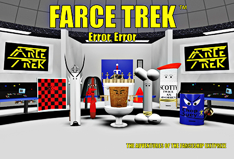 Farce trek link page for Farcical parody