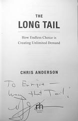 The Long Tail, con dedicatoria