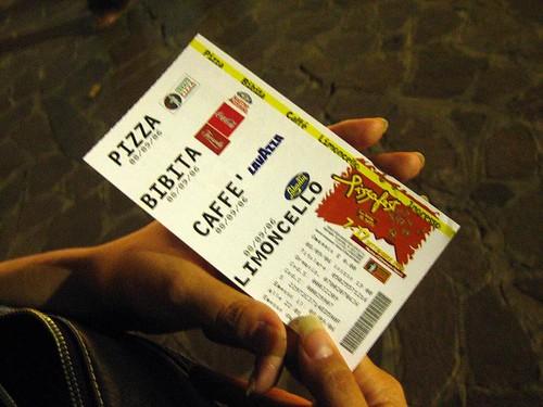 Pizzafest '06 Ticket
