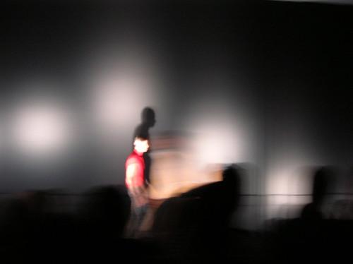 cloak runway show